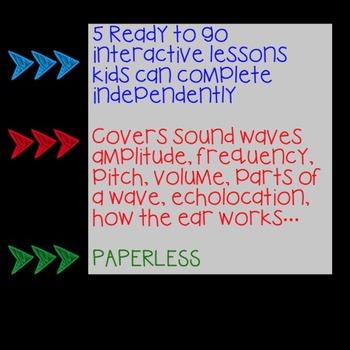 GOOGLE Sound Unit No Prep Digital Interactive Lessons