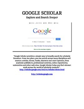 GOOGLE Tips for Grade 3+