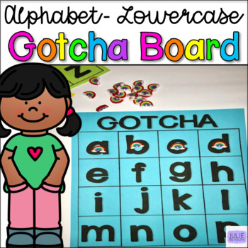 GOTCHA Boards- Lowercase Alphabet