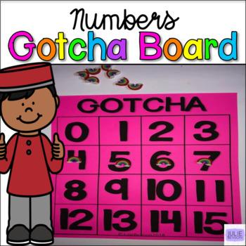 GOTCHA Boards: Numbers