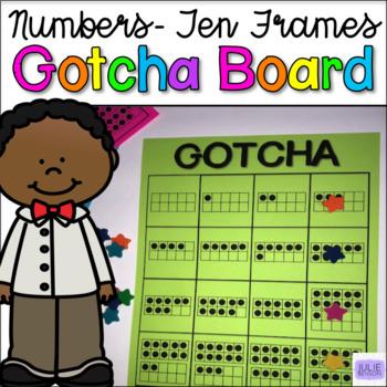 GOTCHA Boards: Numbers- Ten Frames