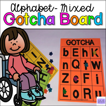 GOTCHA Boards- Upper and Lowercase Alphabet