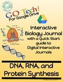 GOTech!! Digital Interactive Biology Journal - DNA, RNA, a