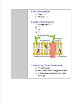 GOTech! Digital Interactive Biology Journal - The Cell and Cellular Transport