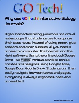GOTech!!! Interactive Biology Journal - Taxonomy and Classification