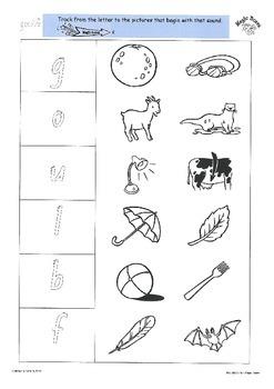 GOULFB Activity Sheets