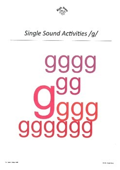 GOULFB Alphabet Sounds /g/
