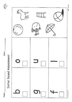GOULFB Assessment