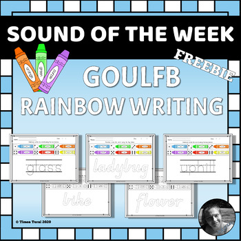 GOULFB Rainbow Writing Pages --Sampler