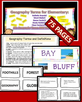 BUNDLE GOVERNMENT ECONOMY GEOGRAPHY GRADE 4 PDFS AND PPTS