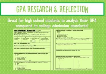 GPA Research & Reflection