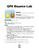 GPE (Gravitational Potential Energy) Bounce Lab Activity