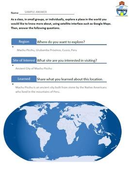 GPS Navigation Google Maps Global Competency Skills