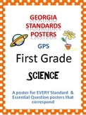 GPS Posters for Science - First Grade (with EQ's)