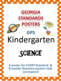 GPS Posters for Science - Kindergarten (with EQ's)