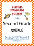 GPS Posters for Science - Second Grade (with EQ's)