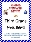 GPS Posters for Social Studies - Third Grade (with EQ's)