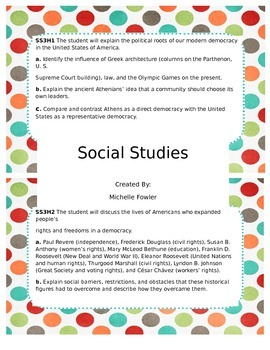 GPS Social Studies Standards