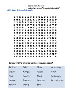 GPS- Word Search