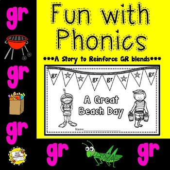GR Blend: A Great Beach Day (Booklet/Story)