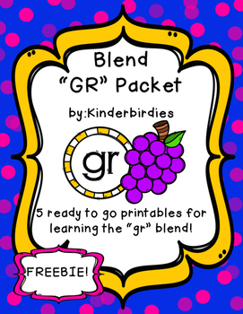 GR Blend Packet FREEBIE
