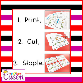 GR- Blend Readers Levels B and D (Printable and Projectable Books)