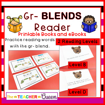 GR- Blend Readers Levels B and D (Printable and Projectabl