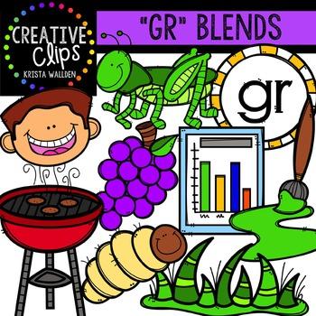 GR Blends {Creative Clips Digital Clipart}