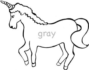 GR Blends Realistic Color and Black Line Phonics Clip Art