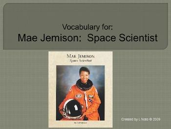 GR5 Mae Jemison Vocabulary PP HM