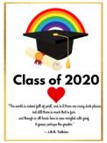 GRAD Class of 2020 POSTER - Virtual Classroom  - Distance