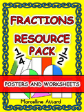 FRACTIONS WORKSHEETS GRADE 1 MATH