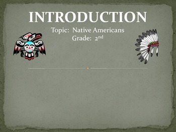 GRADE 2 NATIVE AMERICAN INTEGRATED UNIT