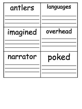 GRADE 3 - READING STREETS - VOCABULARY CARDS AND QUIZ - UNIT 3