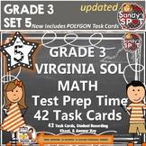 GRADE 3 VIRGINIA SOL MATH TASK CARDS SET 5