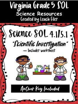 GRADE 4/5 VIRGINIA SCIENCE SOL 4.1/5.1 REVIEW