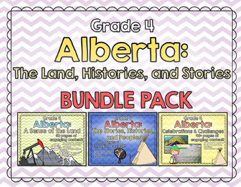 GRADE 4 BUNDLE - Alberta: The Land, Histories and Stories