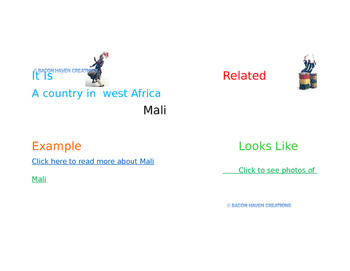 GRADE 4 ELA MOD 1 A UNIT 3 LESSON 2 VOCABULARY in Frayer MODEL  videos pictures