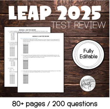 GRADE 4: LEAP 2025 MATH REVIEW