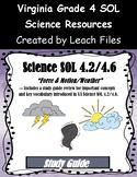 4th Grade VA Science SOL 4.2/4.6 Study Guide
