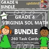 GRADE 4 VIRGINIA SOL MATH TASK CARDS BUNDLE