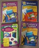 GRADE 5 Math Language Pack 4 books for one bid!