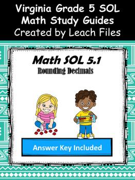 GRADE 5 Math SOL 5.1 Study Guide
