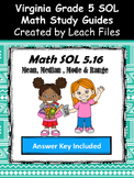 GRADE 5 Math SOL 5.16 Study Guide