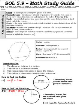 GRADE 5 Math SOL 5.9 Study Guide