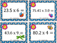 GRADE 5 Math VA SOL 5.5 Multiplying w/ Decimals Task Cards {Spring Edition}