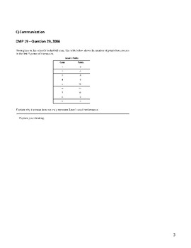 GRADE 6 Data Management Unit Test