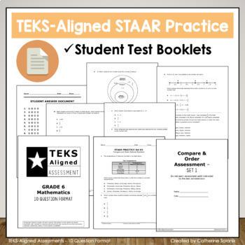 6th Grade STAAR Math {Equations Inequalities Algebra} TEKS 6.9ABC, 6.10AB