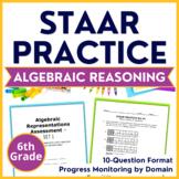 6th Grade Math STAAR Test Prep {TABLES & GRAPHS} TEKS 6.6A