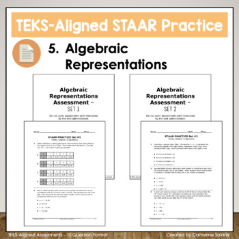 6th Grade Math STAAR Test-Prep Tables, Graphs, & Equations TEKS 6.6A 6.6B 6.6C